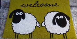 Fussmatte - Welcome ... Willkommen im Ferienhaus Ida